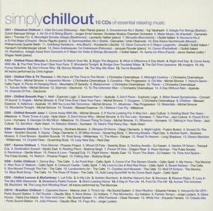 Simply Chillout - CD Audio - 2