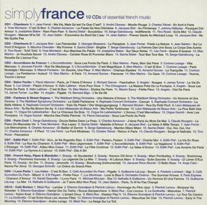 Simply France - CD Audio - 2