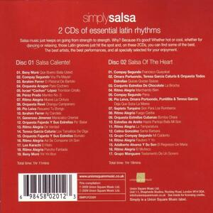 Simply Salsa - CD Audio - 2