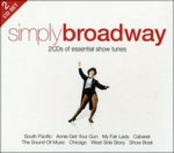 Simply Broadway - CD Audio