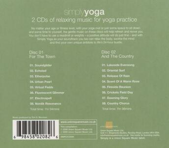 Simply Yoga - CD Audio - 2