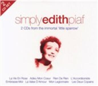 Simply Edith Piaf - CD Audio di Edith Piaf