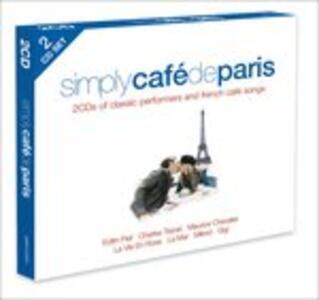 Simply Cafe De Paris - CD Audio