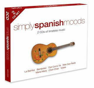Simply Spanish Moods - CD Audio