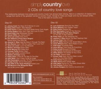 Simply Country Love - CD Audio - 2