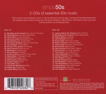Simply 50s - CD Audio - 2