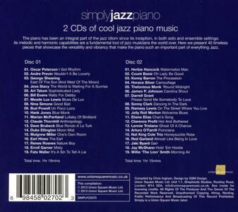 Simply Jazz Piano - CD Audio - 2