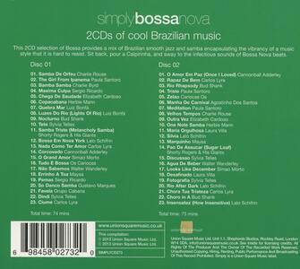 Simply Bossa Nova - CD Audio - 2