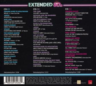 Extended 80's - CD Audio - 2