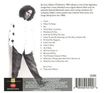 By Larry - CD Audio di Gilbert O'Sullivan - 2