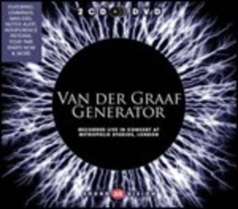Recorded Live in Concert at Metropolis Studio, London - CD Audio + DVD di Van der Graaf Generator