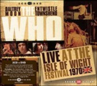 Live At The Isle Of Wight Festival - CD Audio + DVD di Who