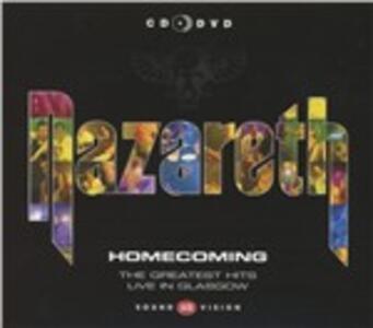 Homecoming Hits - CD Audio + DVD Audio di Nazareth