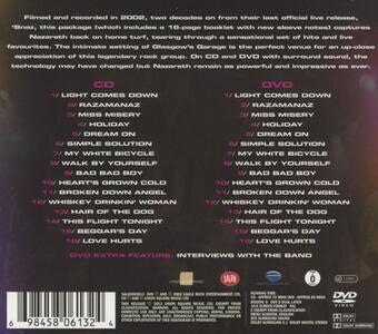 Homecoming Hits - CD Audio + DVD Audio di Nazareth - 2