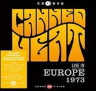 Live in Europe 1973 - CD Audio + DVD di Canned Heat