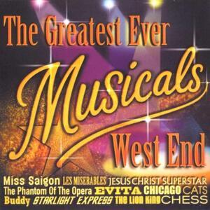 Greatest Ever Musicals Album - West End (Colonna Sonora) - CD Audio