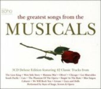 Greatest Songs of Musical - CD Audio