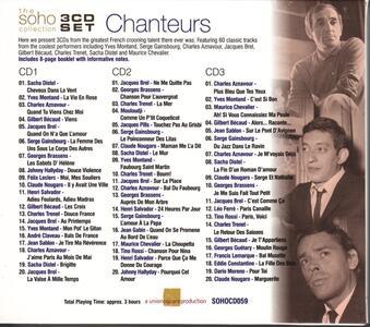 Chanteurs - CD Audio - 2