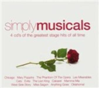 Simply Musicals (Colonna Sonora) - CD Audio