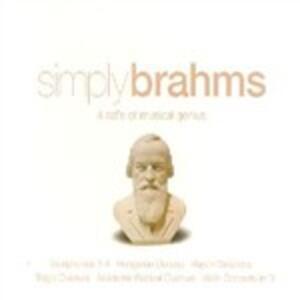 Simply Brahms - CD Audio di Johannes Brahms