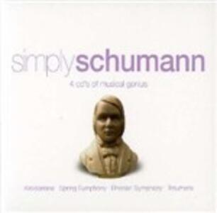 Simply Schumann - CD Audio di Robert Schumann
