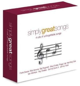Simply Great Songs - CD Audio
