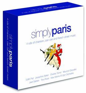 Simply Paris - CD Audio