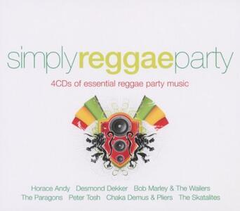 Simply Reggae Party - CD Audio
