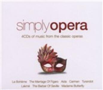 Simply Opera - CD Audio
