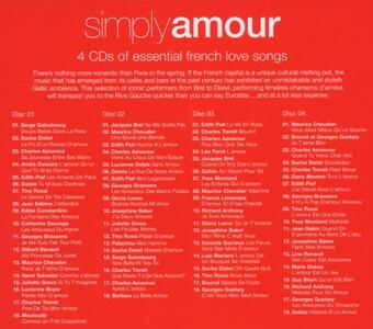 Simply Amour - CD Audio - 2
