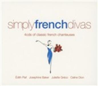 Simply French Divas - CD Audio