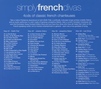 Simply French Divas - CD Audio - 2