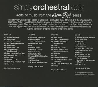 Simply Orchestral Rock - CD Audio - 2