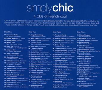 Simply Chic - CD Audio - 2