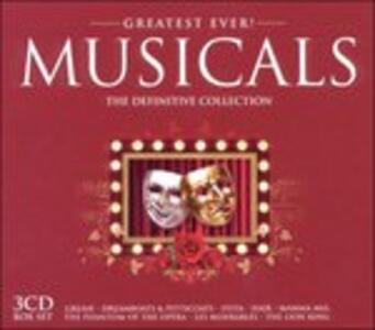 Greatest Ever Musicals - CD Audio