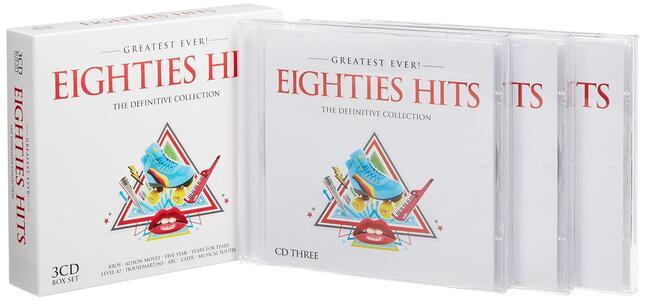 Greatest Ever Eighties - CD Audio - 2