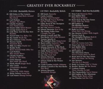 Greatest Ever Rockabilly - CD Audio - 2