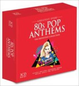 Eighties Pop Anthems - CD Audio