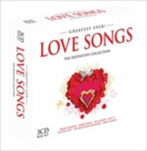 Greatest Ever Love Songs - CD Audio