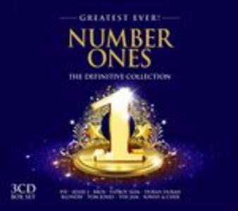 Greatest Ever. Number Ones - CD Audio