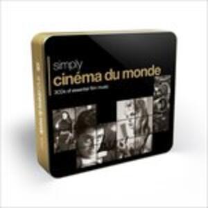 Simply Cinema du monde - CD Audio