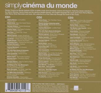 Simply Cinema du monde - CD Audio - 2