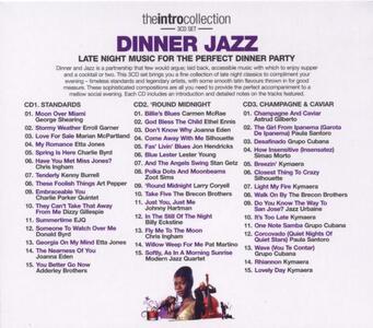 Dinner Jazz - CD Audio - 2