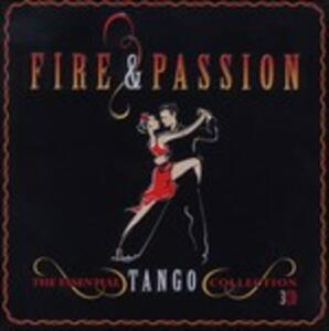 Tango Fire & Passion - CD Audio