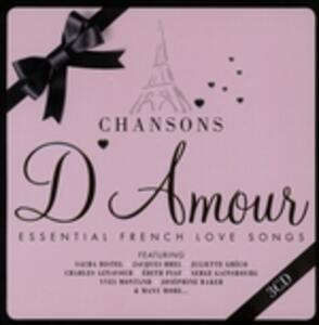 Chansons d'amour. French Love Songs - CD Audio