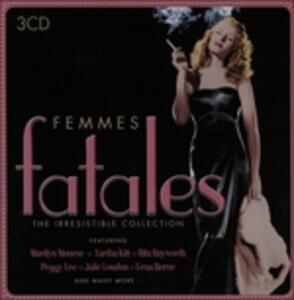 Femmes fatales - CD Audio