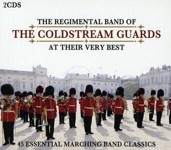 At Their Very Best - CD Audio di Regimental Band of the Coldstream Guards