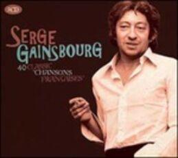 CD 40 Classic Chansons Françaises Serge Gainsbourg