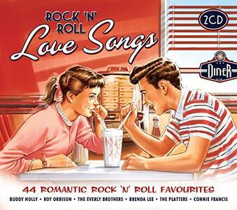 Rock'n'Roll Love Songs - CD Audio