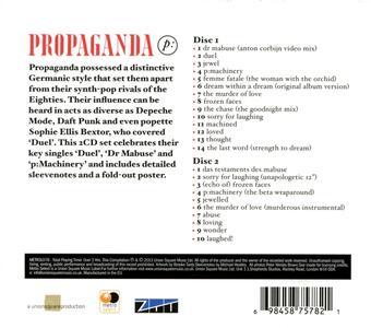 The Best of - CD Audio di Propaganda - 2